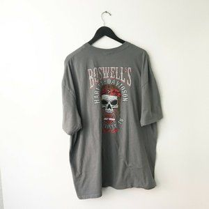 Harley Davidson Boswell's Graphic Shirt Plus Size